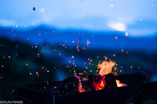 库尔德斯坦, 晚上, 木炭, 火 的 免费素材照片