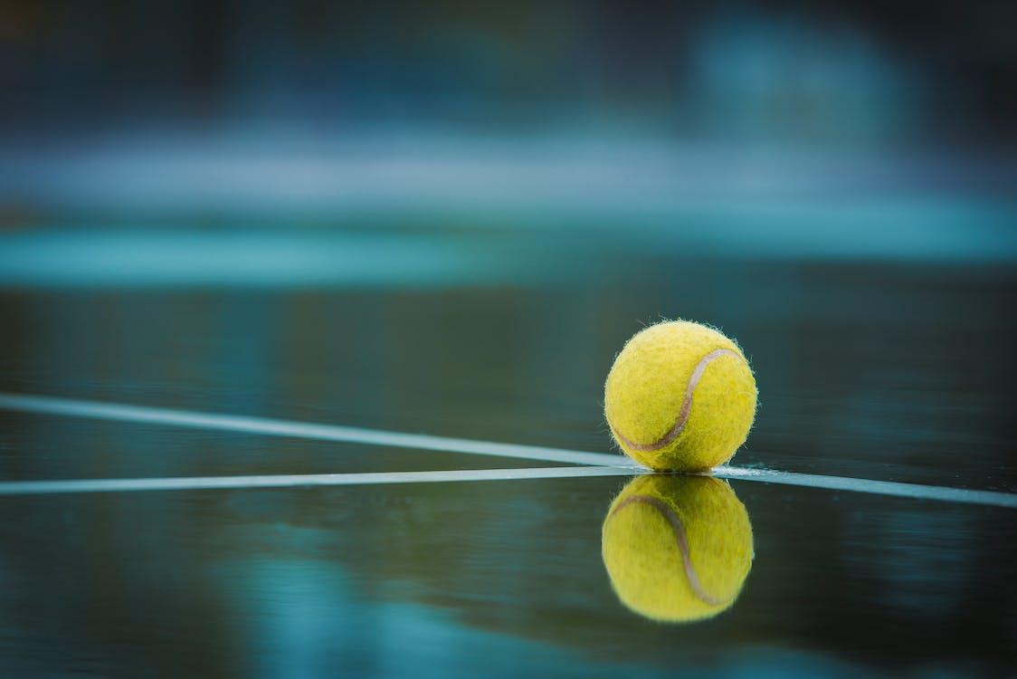 テニスボール, ボール, 反射