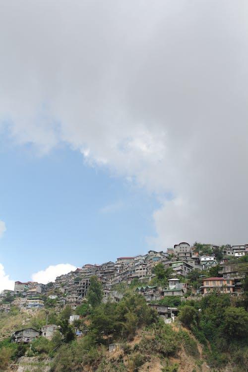 Základová fotografie zdarma na téma baguio, domy, hora, město