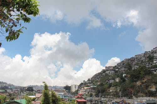 Free stock photo of background, Baguio, blue, city