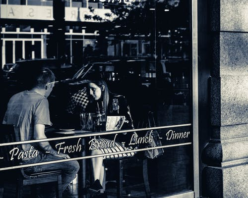 Free stock photo of café, window, woman