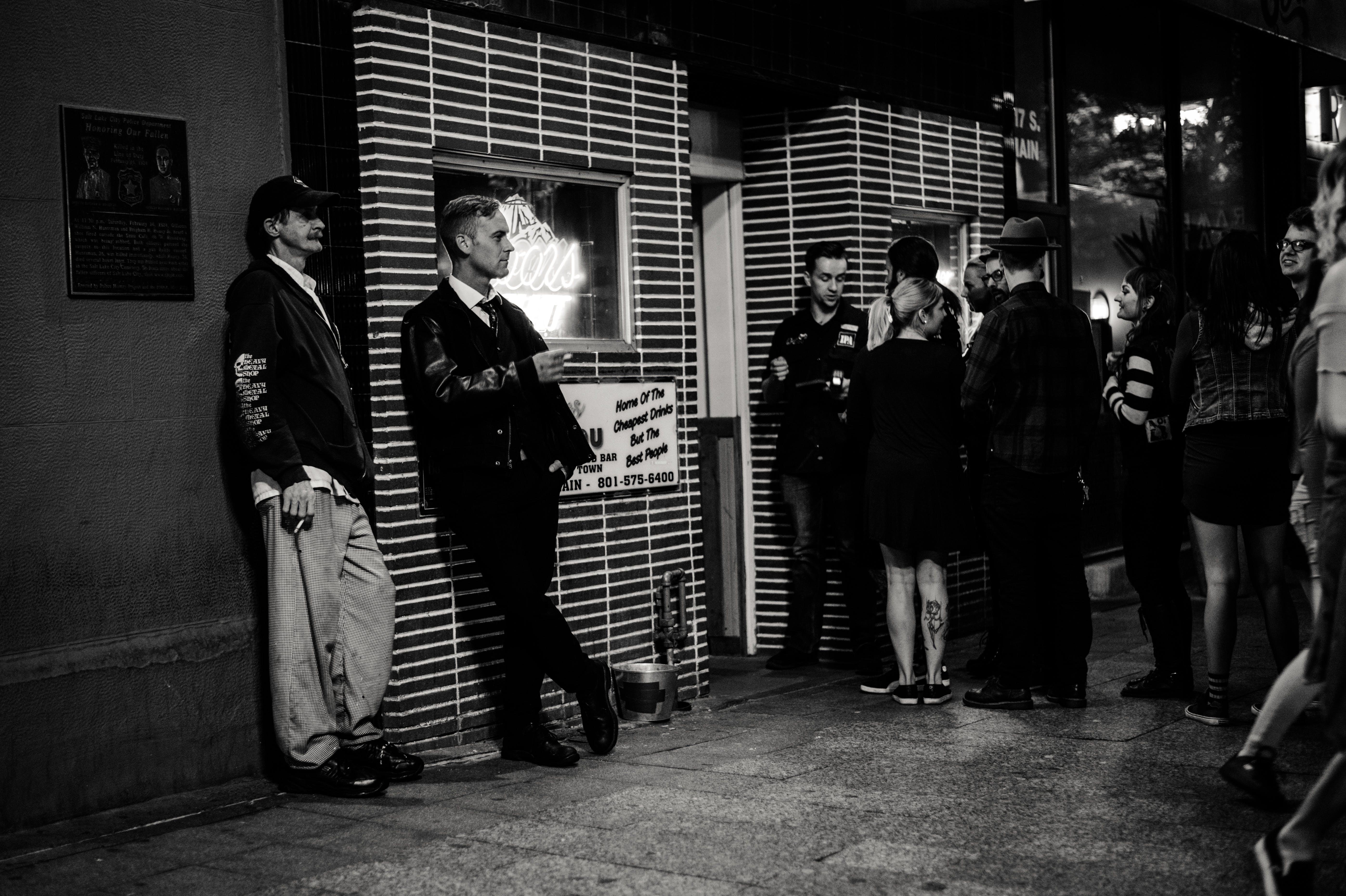 Foto stok gratis hitam & putih, manusia