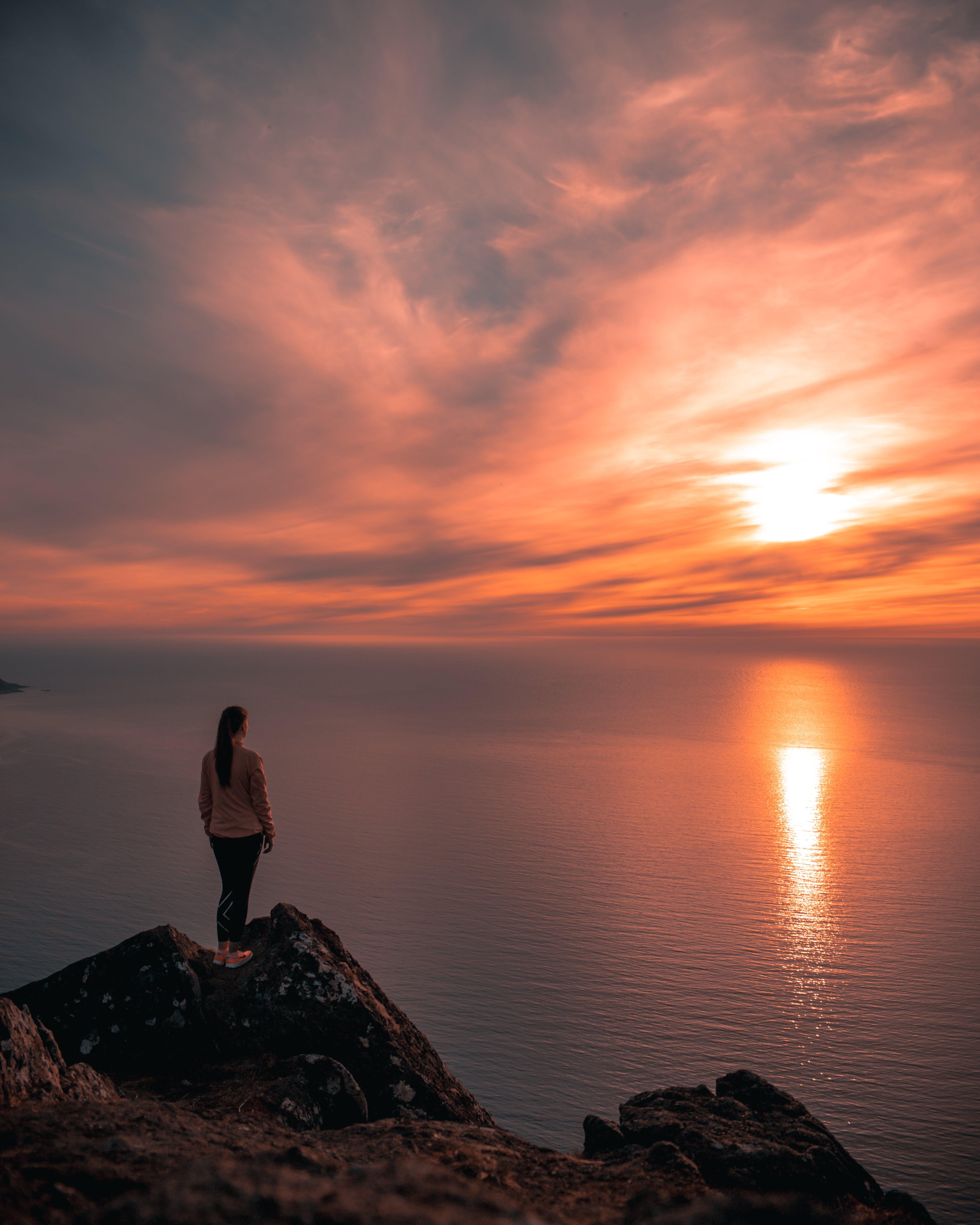 Základová fotografie zdarma na téma horizont, moře, norsko, oceán
