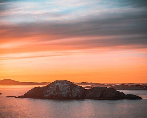 Základová fotografie zdarma na téma cestování, hora, horizont, jezero