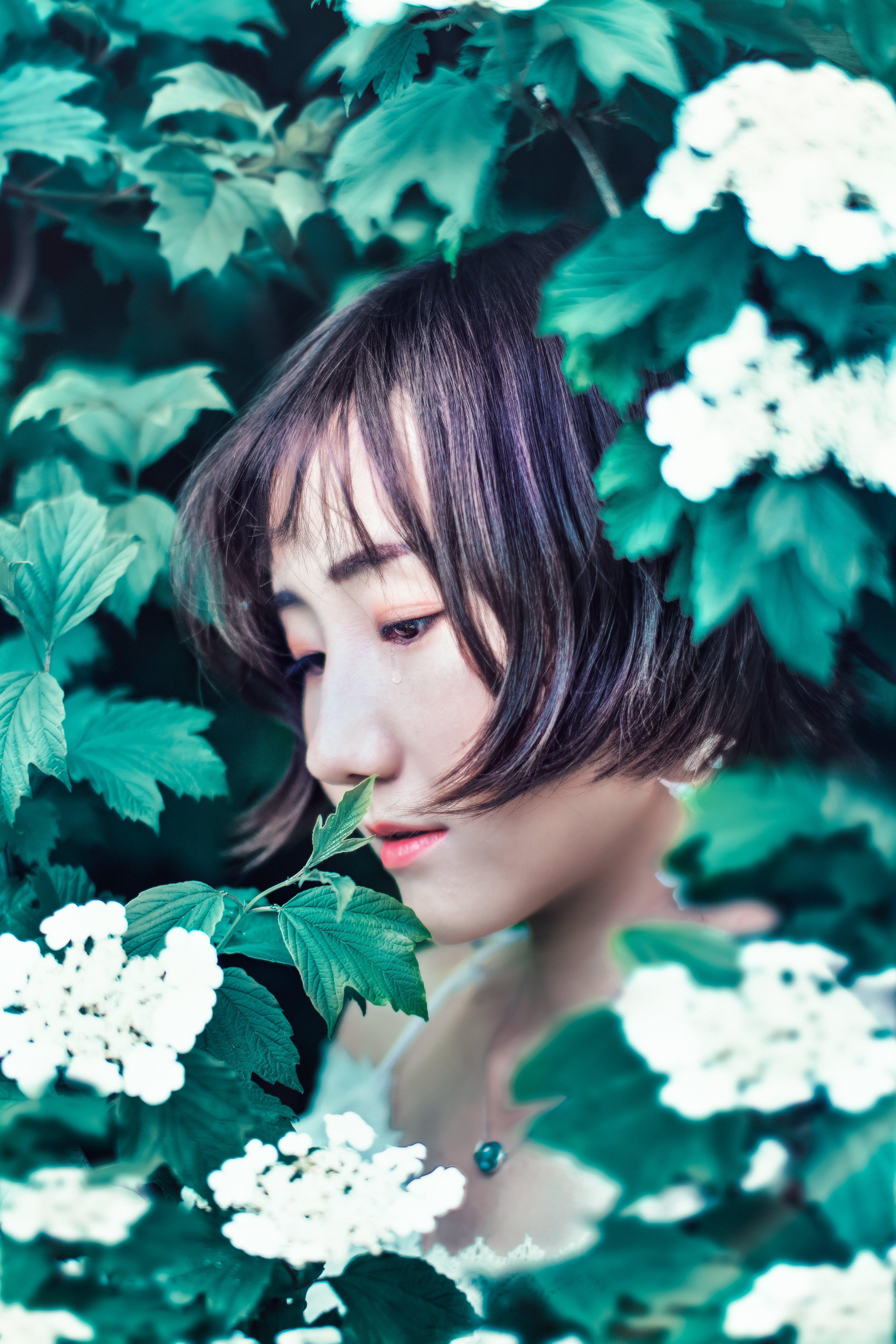Gratis stockfoto met 夏天, 女孩, 季节, 情绪