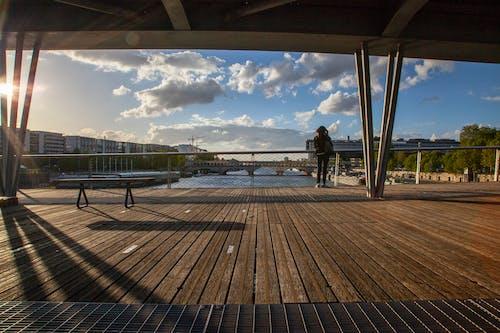 Základová fotografie zdarma na téma architektura, brána, centrum města, fleuve