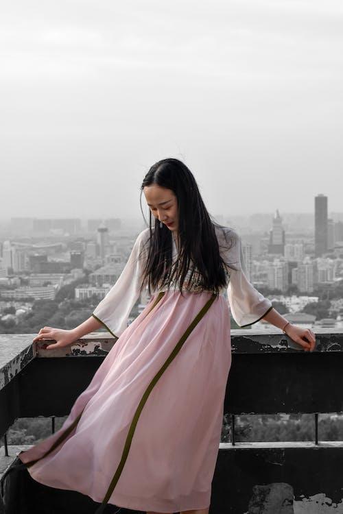Ilmainen kuvapankkikuva tunnisteilla aasialainen nainen, asento, asu