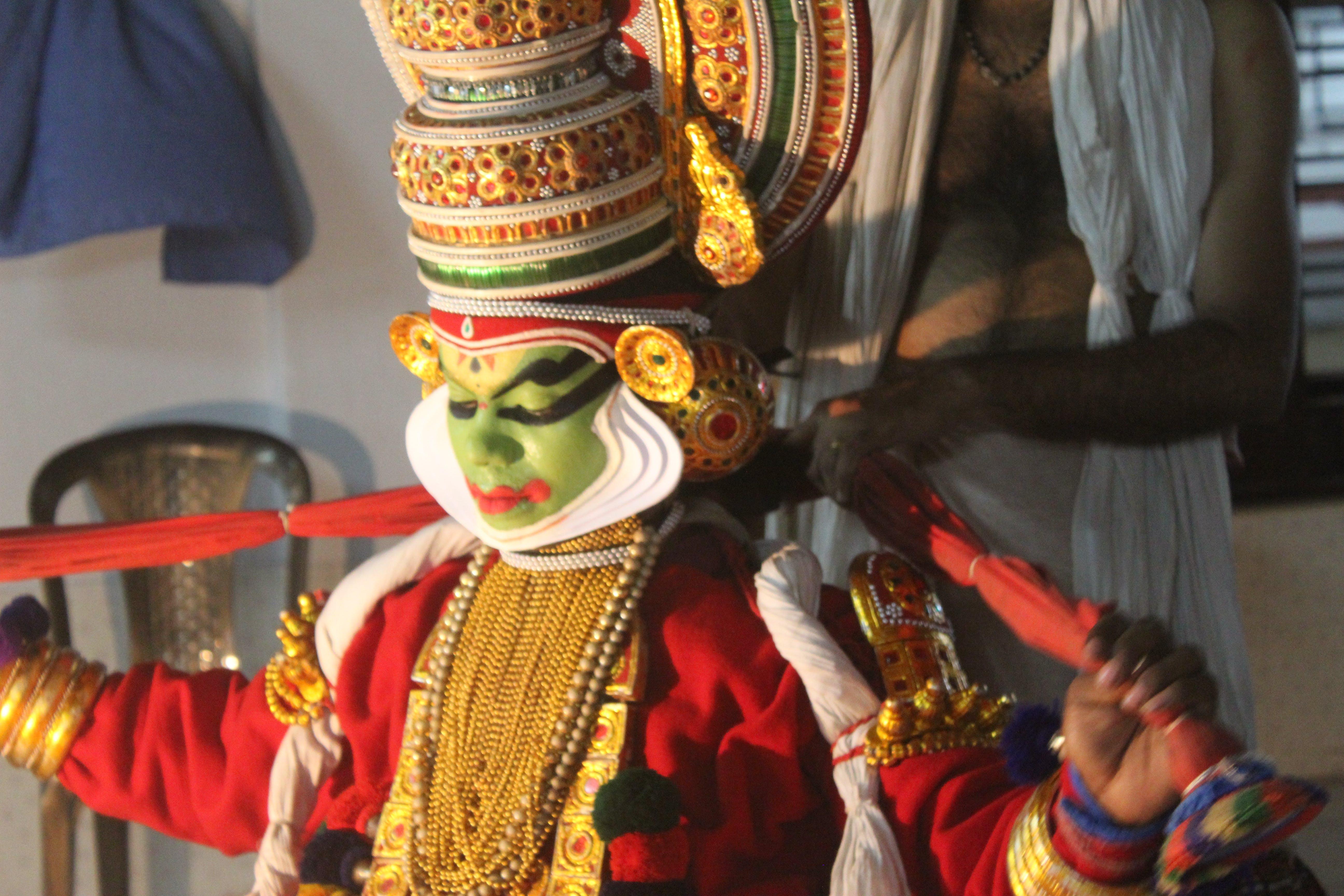 Základová fotografie zdarma na téma indiánský tanečník, kathakali, kathakali tanec, kerala umění