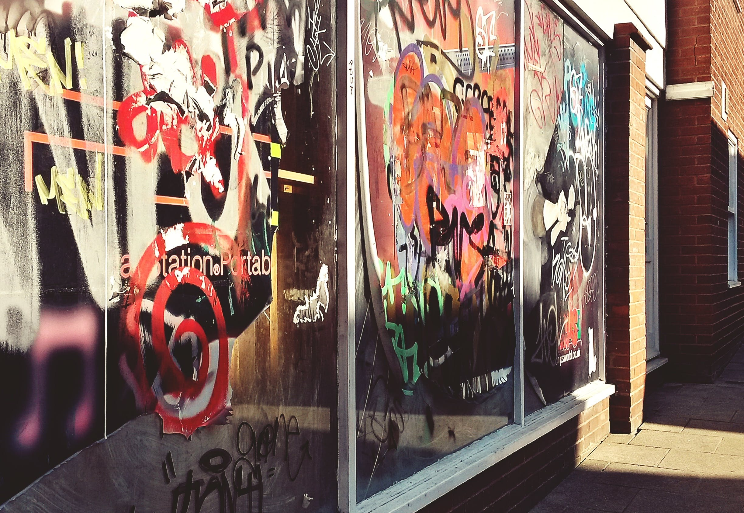 그래피티, 빈, 예술, 창문의 무료 스톡 사진