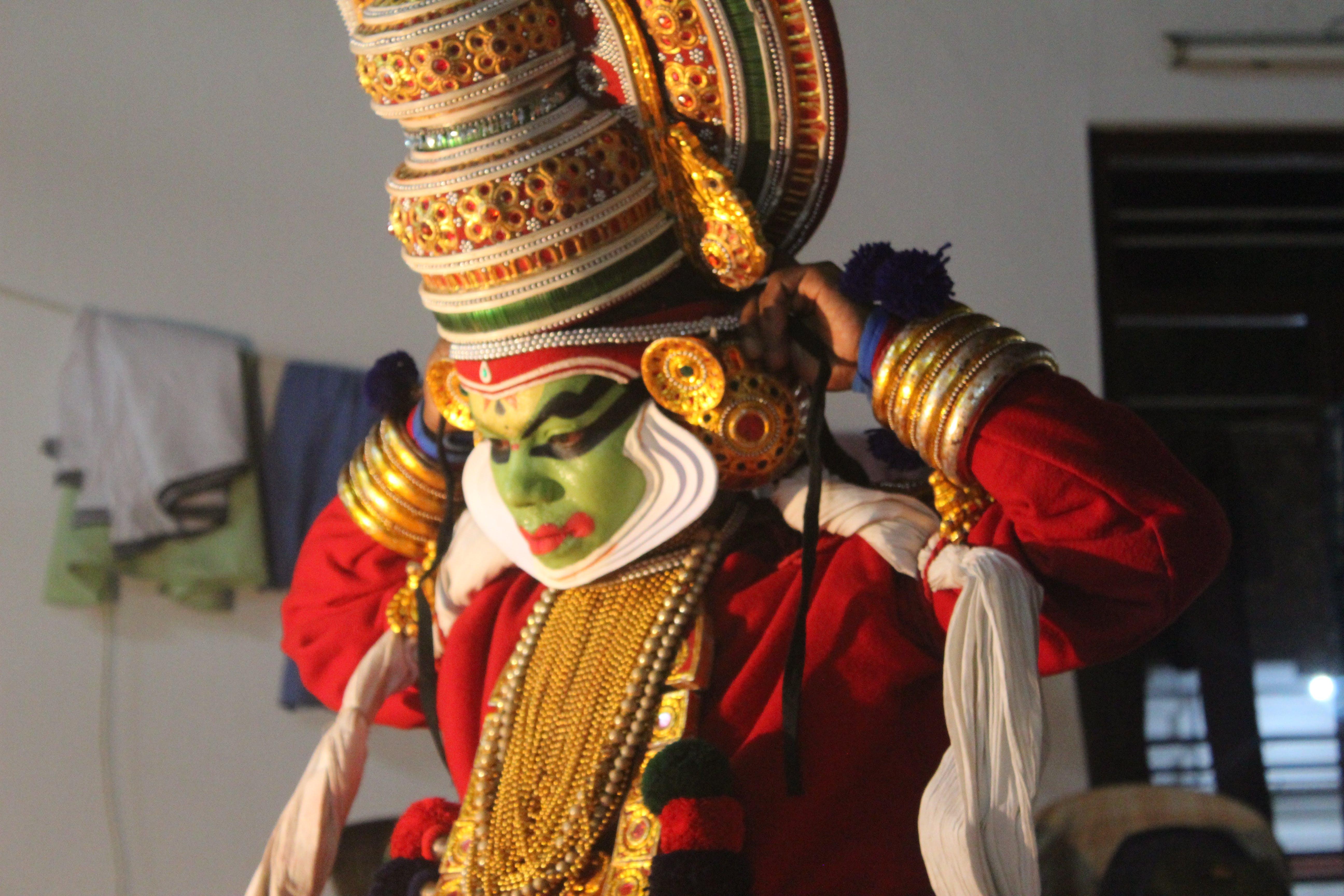 Základová fotografie zdarma na téma fotografie cestovního ruchu, indiánský tanečník, kathakali, kathakali tanec