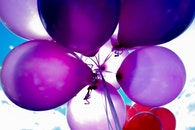 light, purple, party