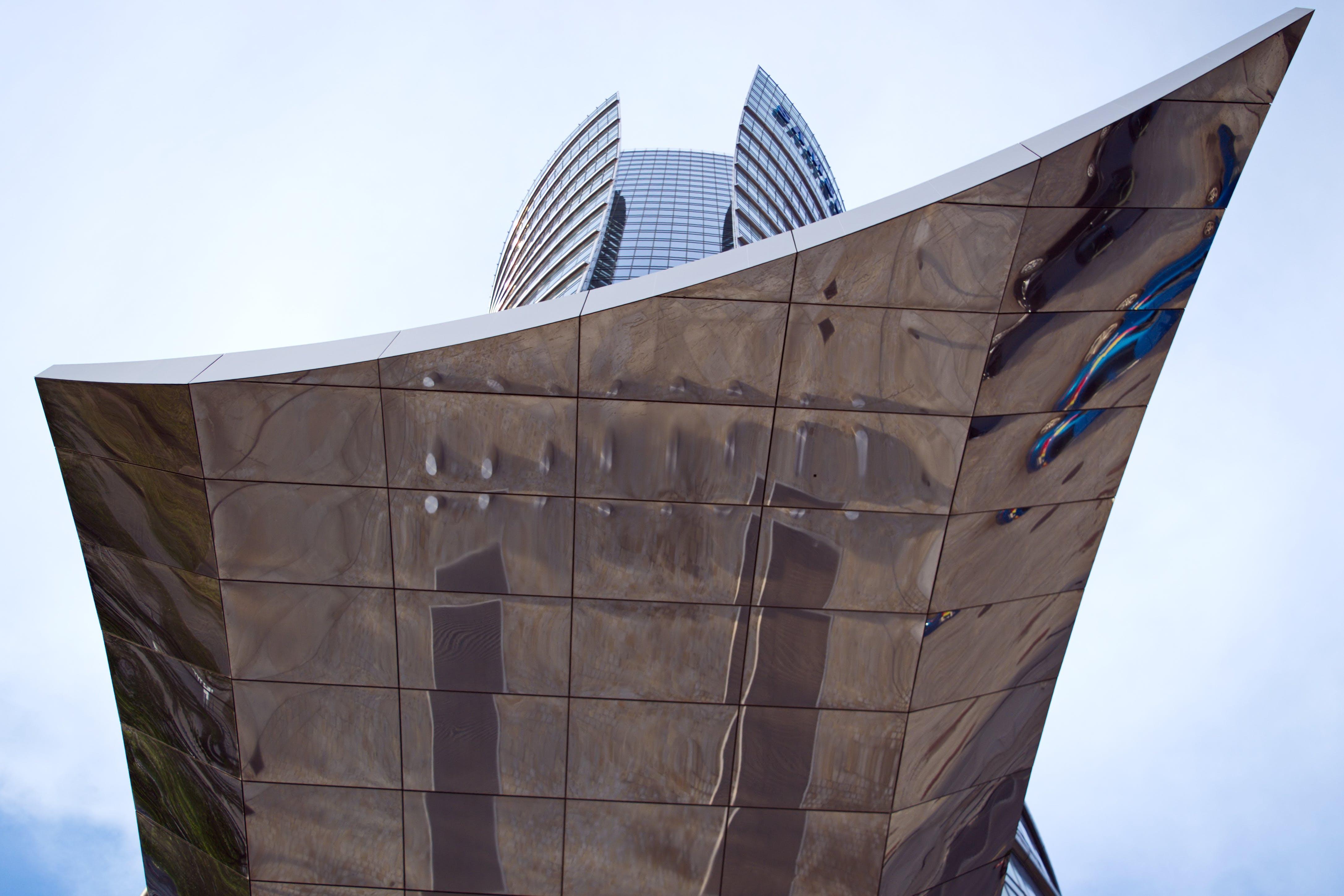 건축, 금속, 도시, 도시의의 무료 스톡 사진