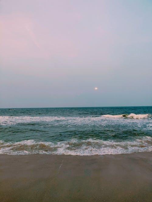 Gratis arkivbilde med #natur, blå, blå himmel, fullmåne
