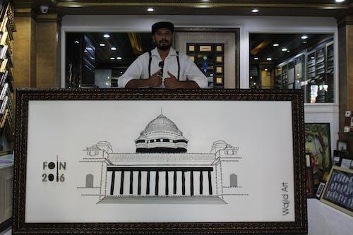 Immagine gratuita di arte indiana, arte unica, artista del ferro, artista wajid khan
