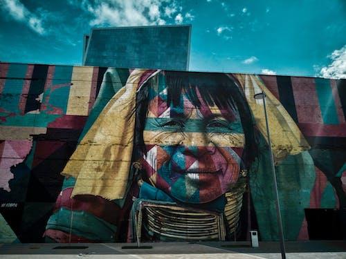 アート, ストリートアート, 創造性, 壁の無料の写真素材