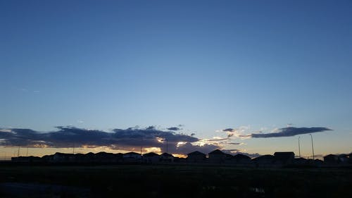Kostnadsfri bild av hav av moln, mörka moln, mörka skyar, Sol