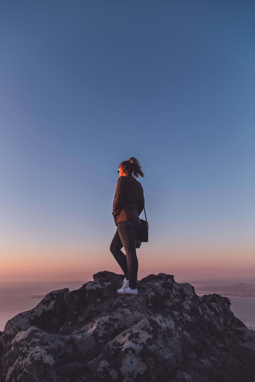 Gratis lagerfoto af alene, beslutsomhed, bjerg, eventyr