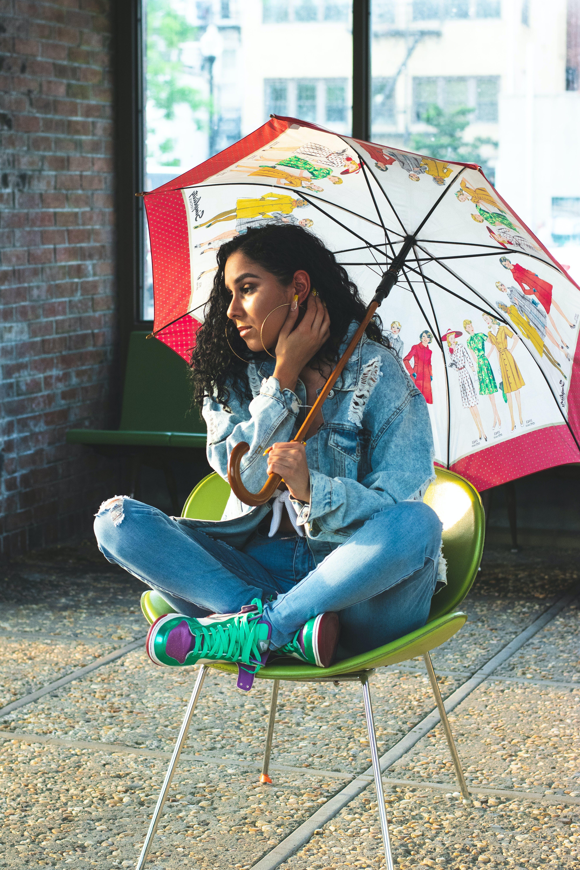 Ingyenes stockfotó esernyő, nő, személy, szép témában