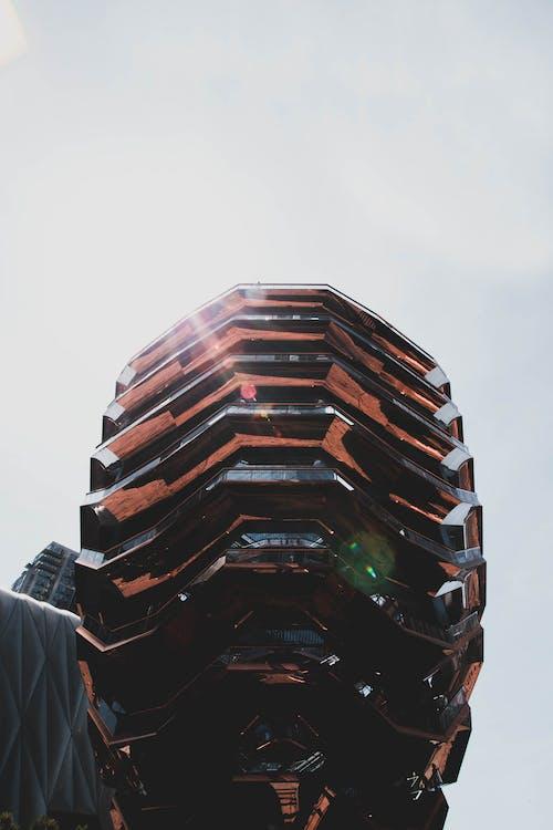 Ingyenes stockfotó acél, alacsony szögű felvétel, design, építészet témában