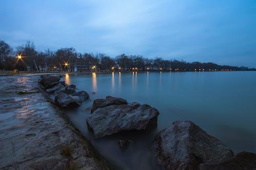 Imagine de stoc gratuită din apă, pietre