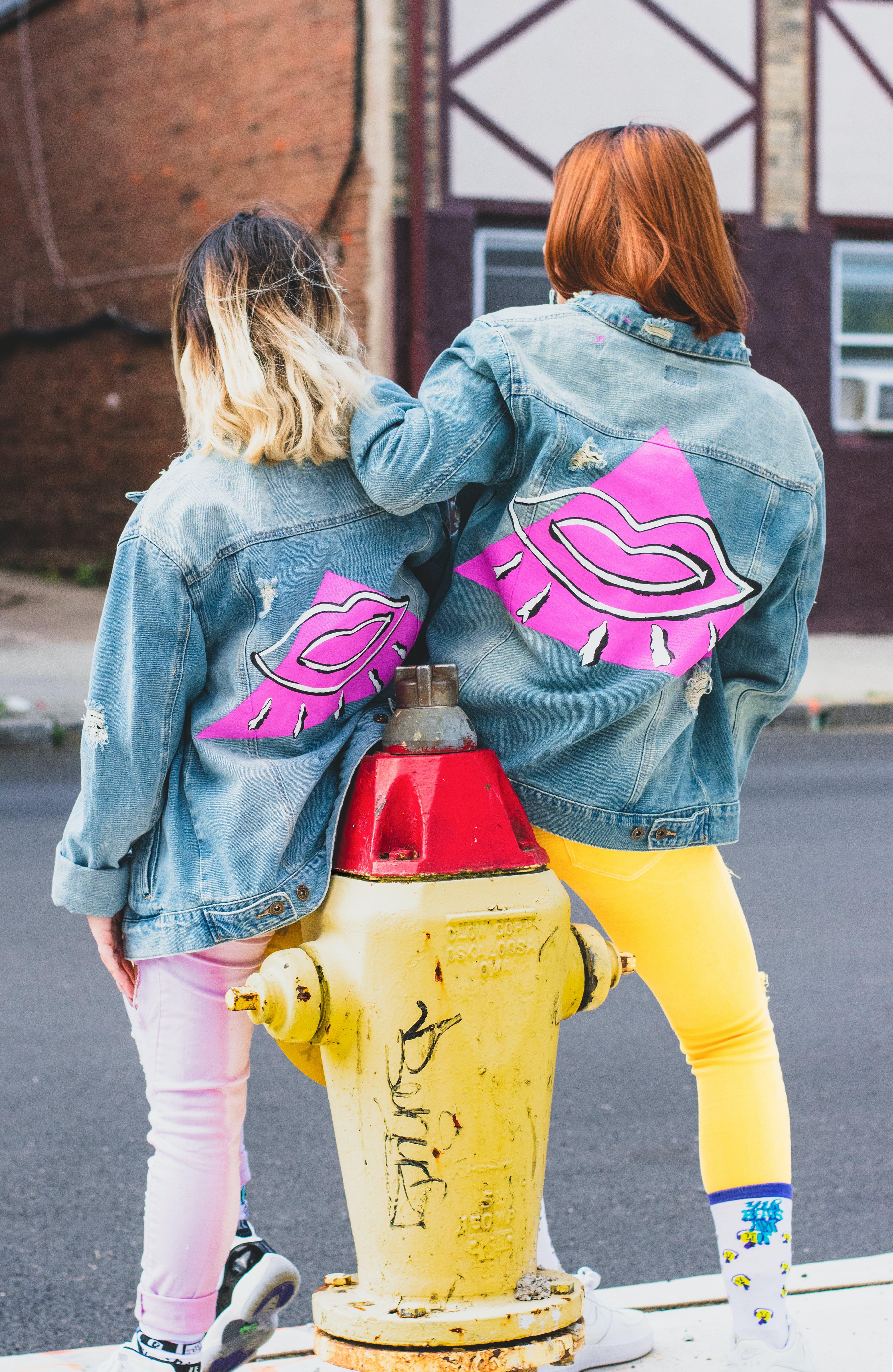 Ingyenes stockfotó barátok, barátság, boldogság, divat témában