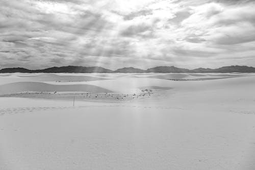 Бесплатное стоковое фото с белый песок, нью-мексико, памятник, пустыня