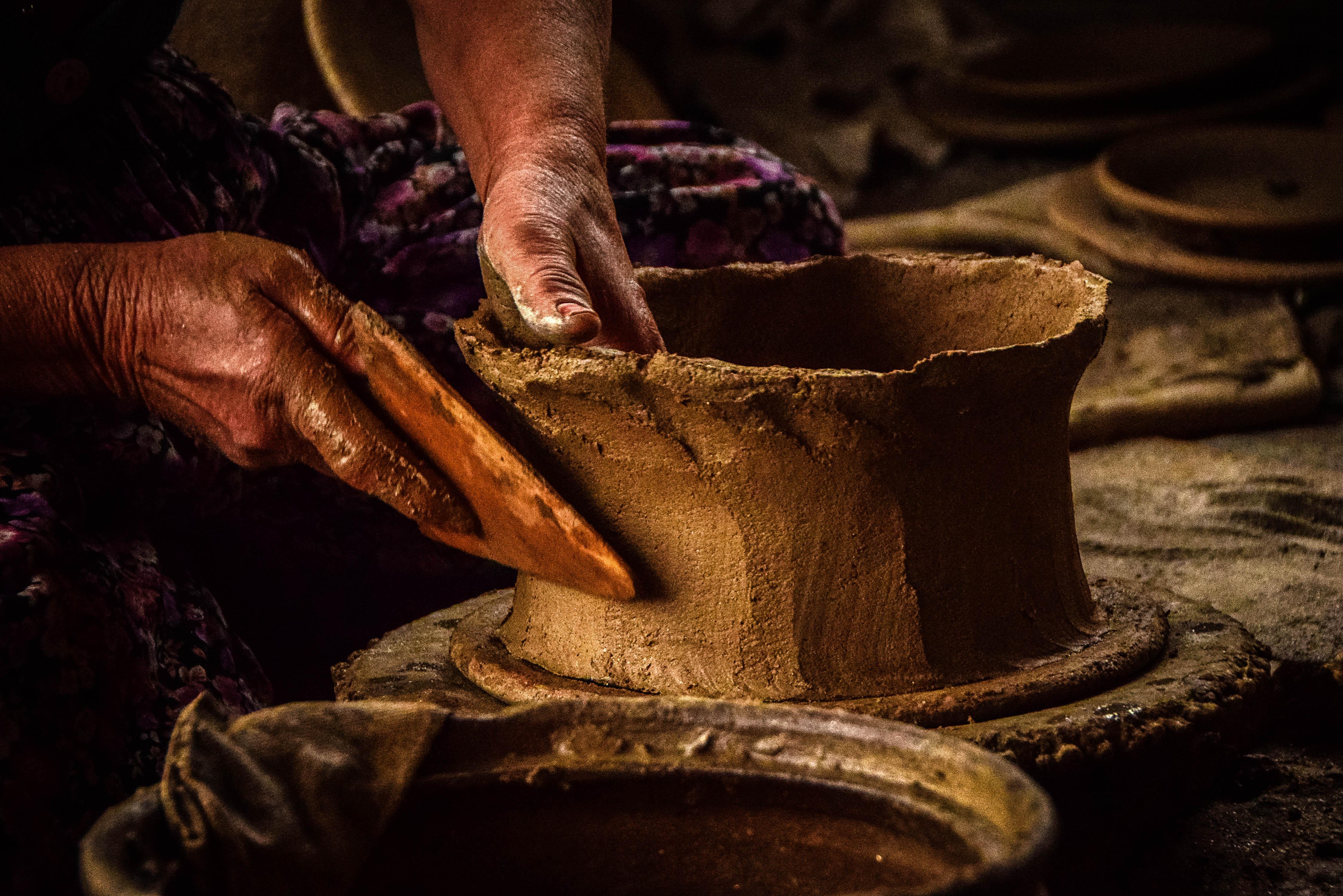 Person Molding Pot