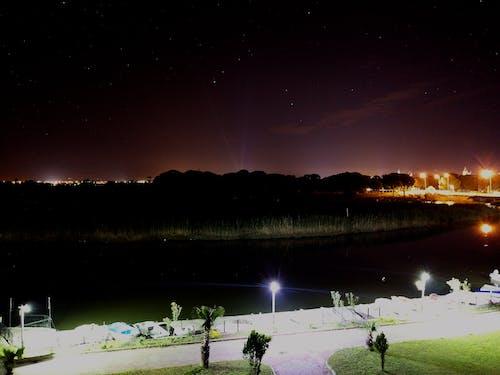 Immagine gratuita di colpo notturno, lunga esposizione, notte