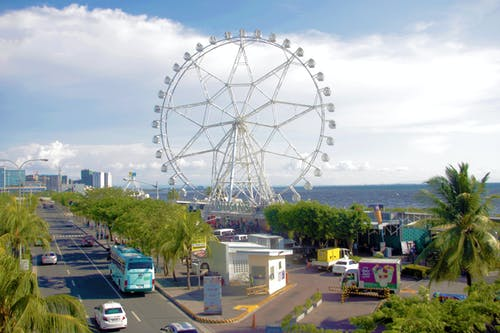 Free stock photo of ferris wheel, manila, place, scene