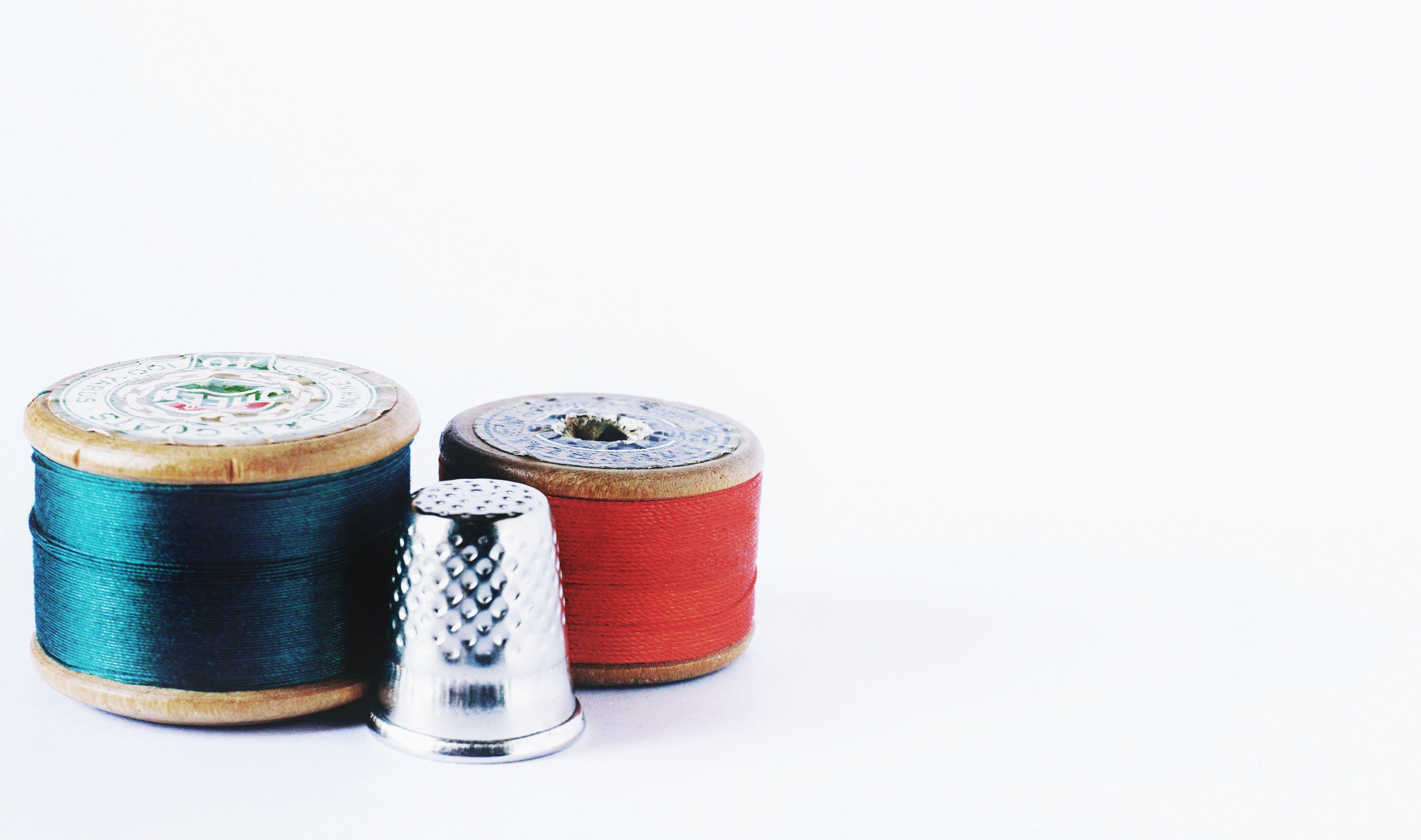 Gratis lagerfoto af håndværk, mode, syning, sytråde