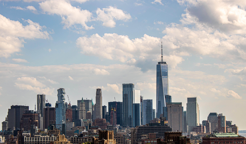 シティ, ニューヨーク, 地球, 広角の無料の写真素材