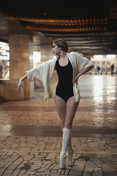 금발, 낮, 눈, 댄서의 무료 스톡 사진