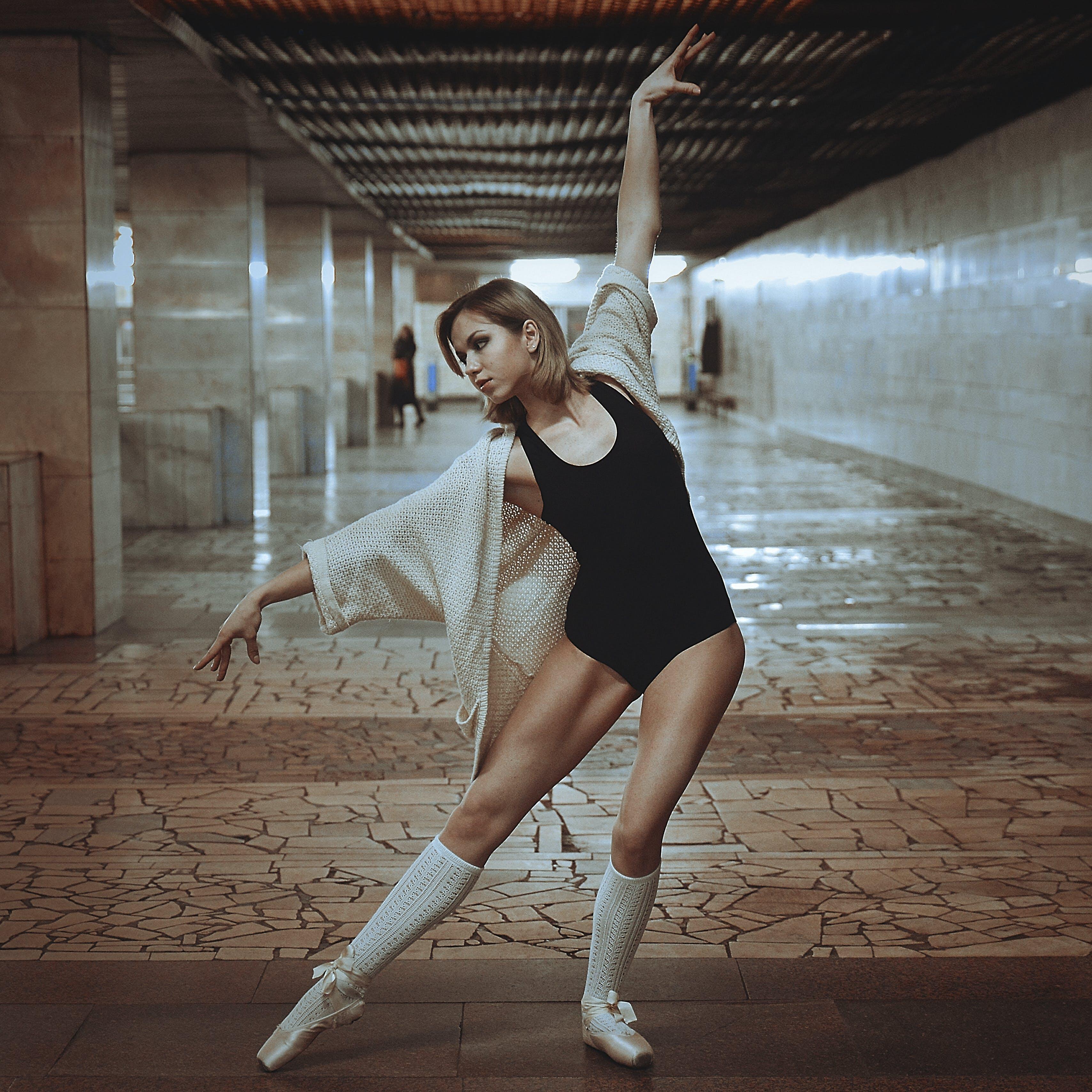 Woman Doing Ballet Pose
