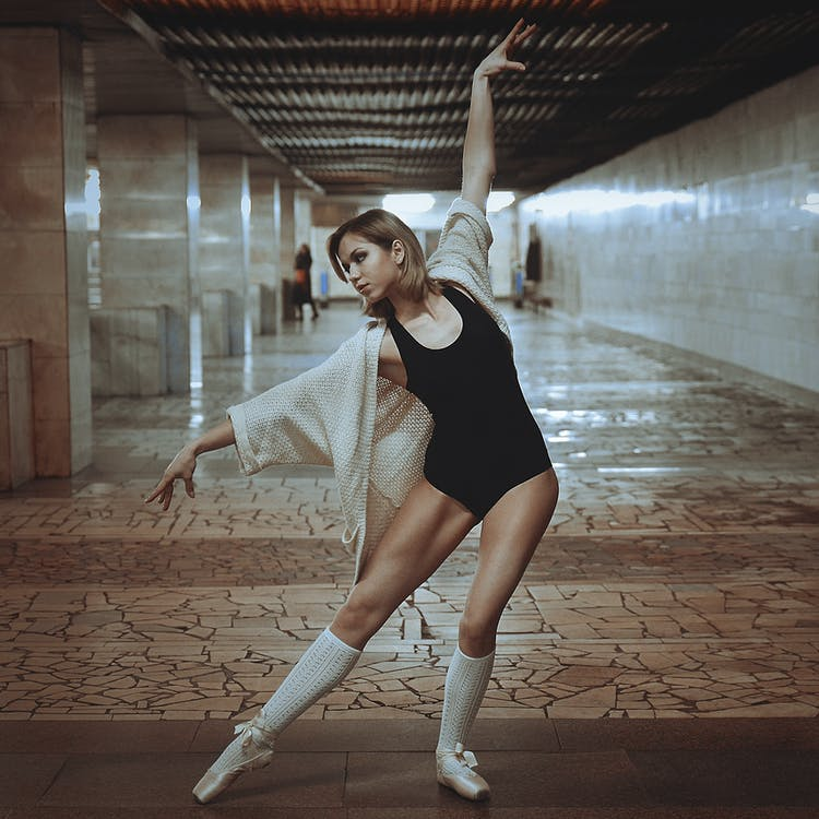 ballerina, ballett, balletttänzer
