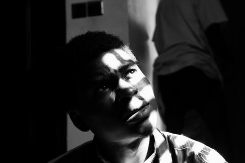 Free stock photo of african, afternoon, black and white, black boy