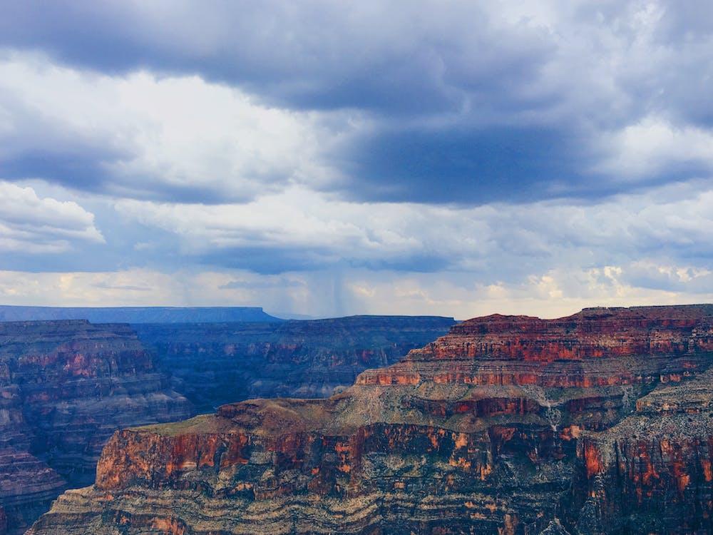 aube, caillou, canyon