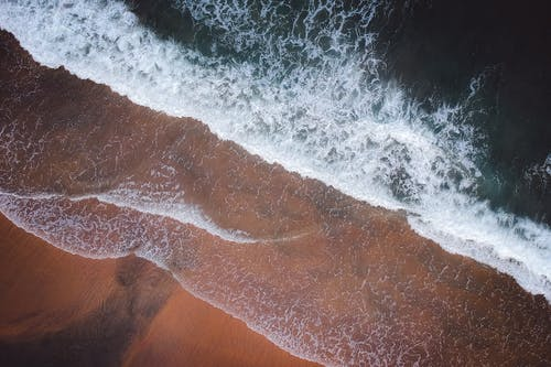 Top-view Photography of Sea