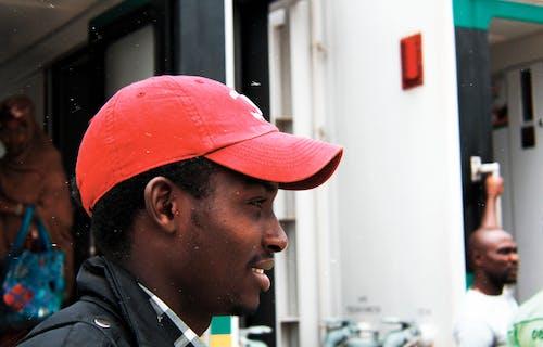 Foto d'estoc gratuïta de ennuvolat, home de 20-25 anys, home de raça negra, model negre