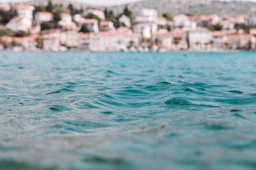 Selective Focus Photo of Sea Water