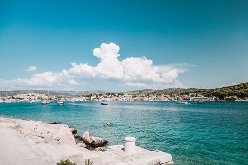 Kostnadsfri bild av hav, kroatien, stad