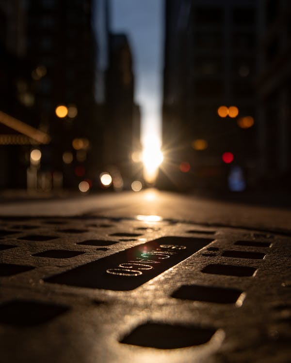 Low Angle Photography Of Road With Bright Light