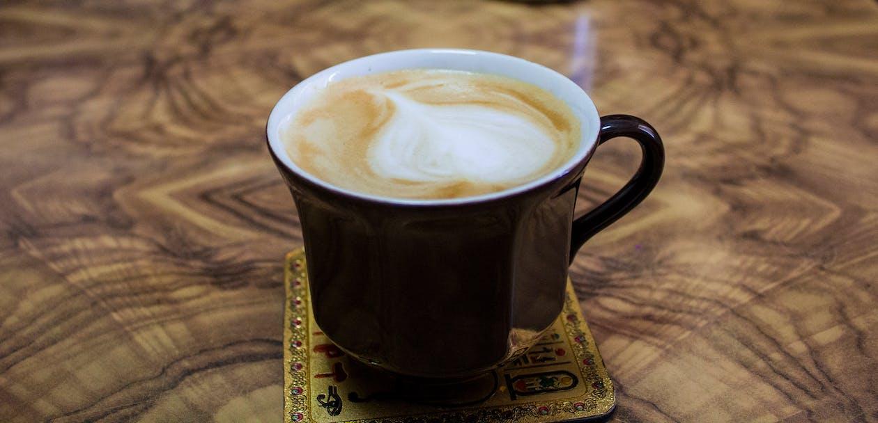 attraente, bevanda, bevanda al caffè