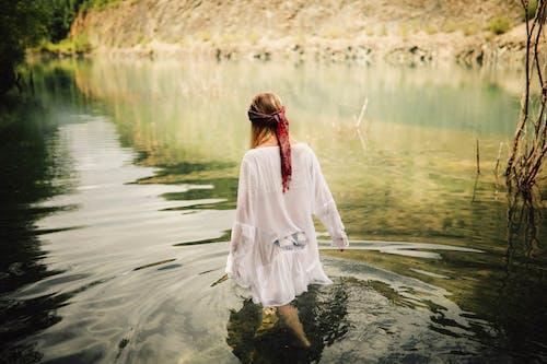 Foto stok gratis air, alam, cairan, danau