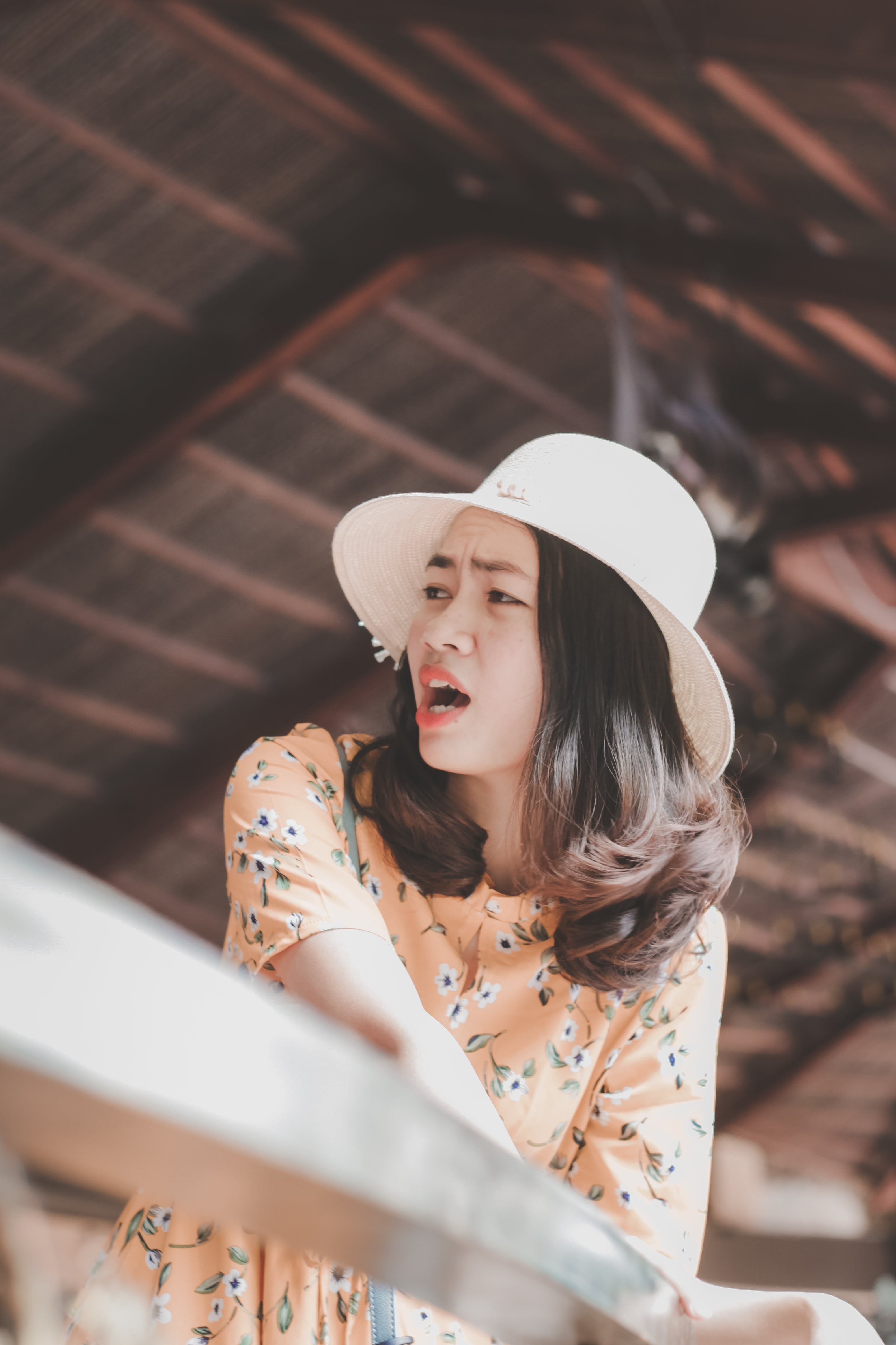 Kostenloses Stock Foto zu #vietnamesisch, asiatin, brünette, deckel