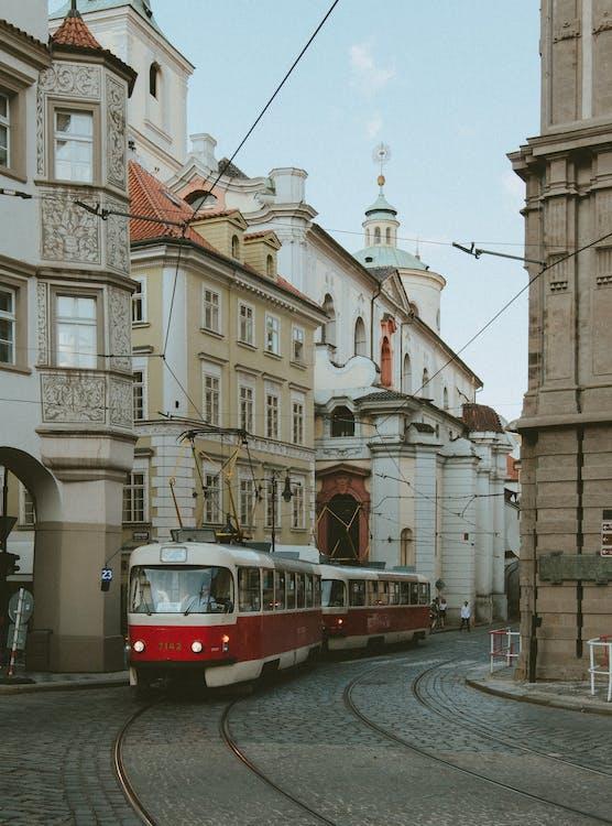 arkitektur, byggnader, centraleuropa