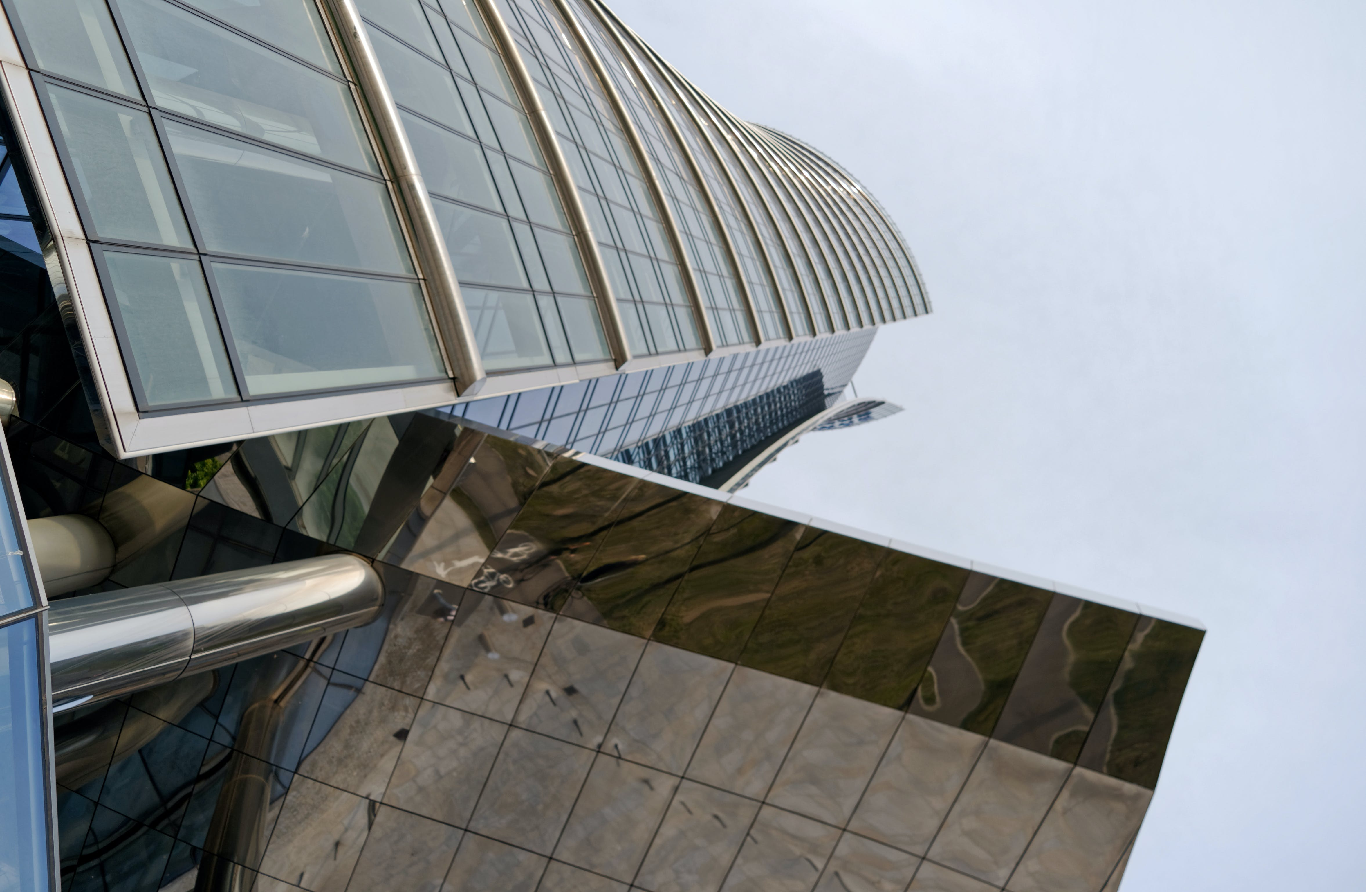 Gratis arkivbilde med betong, by, bygning, futuristisk