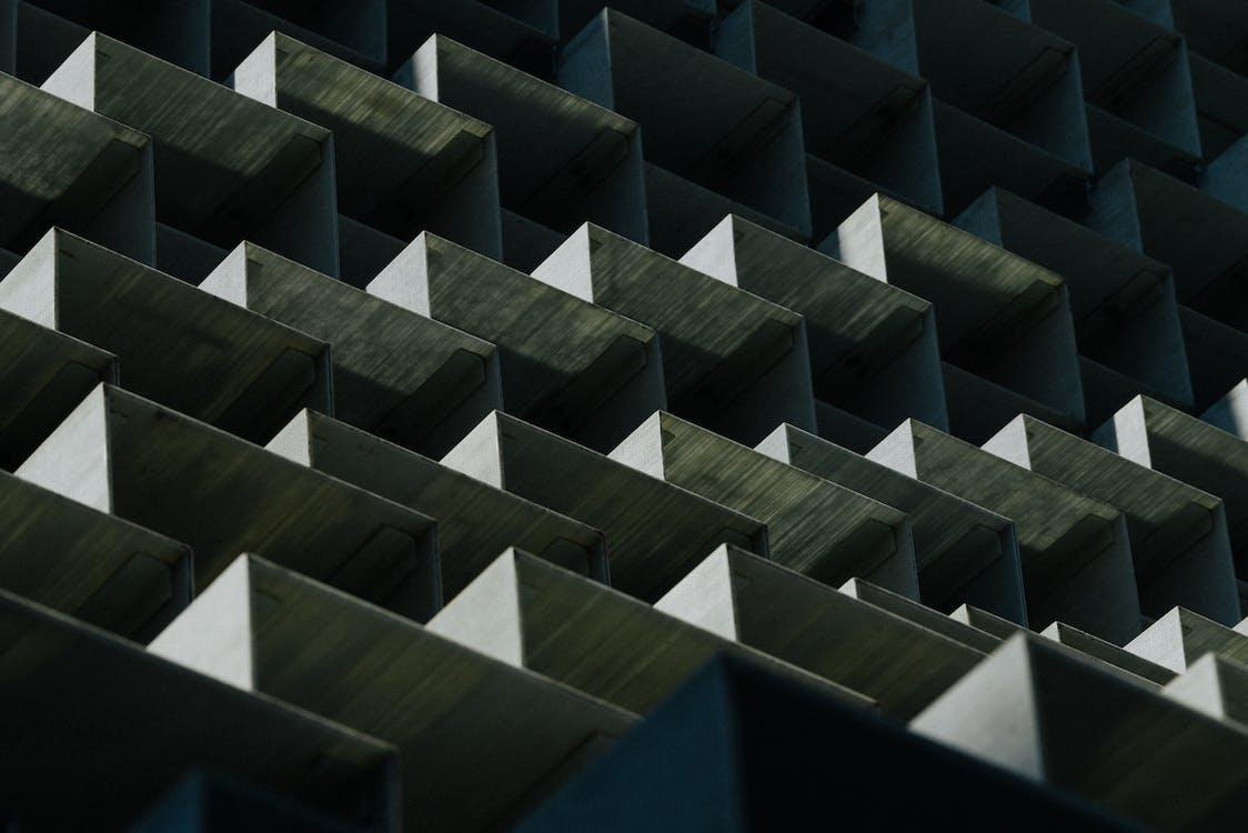 abstrakcyjny, architektura, artystyczny