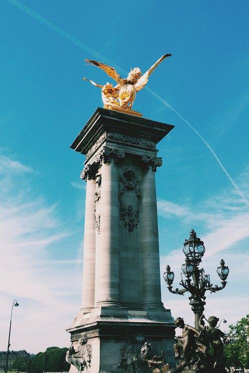 건축의, 골드, 파리의 무료 스톡 사진