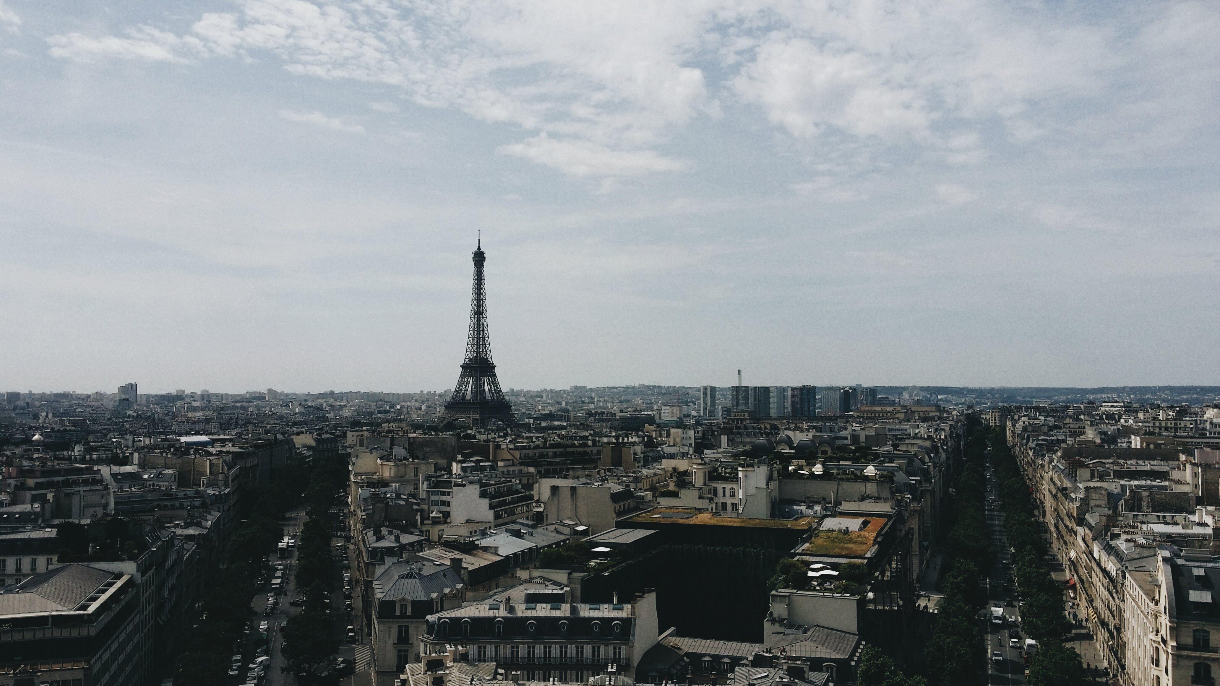 Free stock photo of city, paris