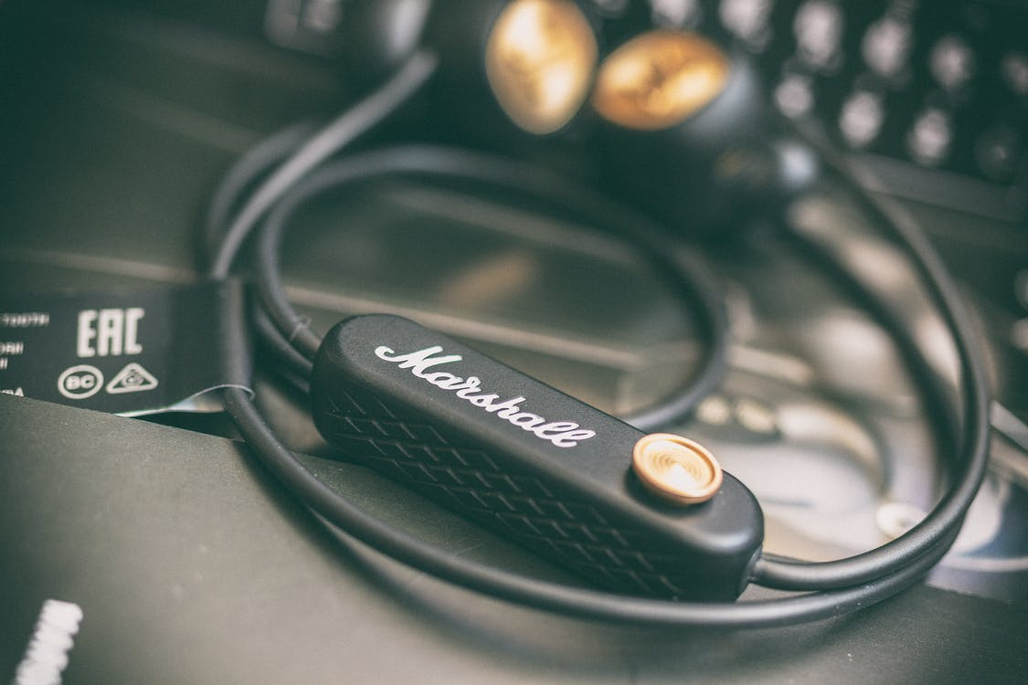 marshall, ακουστικά, απεικόνιση
